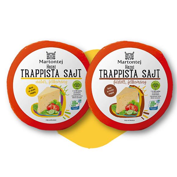 Egész guriga trappista sajt